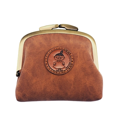 Moomin Moominvalley purse, brown