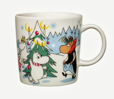 Moomin Mug Under the Christmas Tree 2013