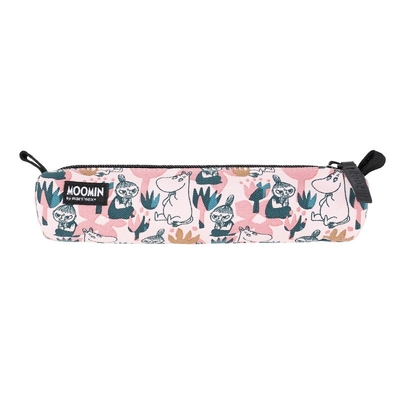 Moomin Muhveli pencil case/make up bag Blooming, rose