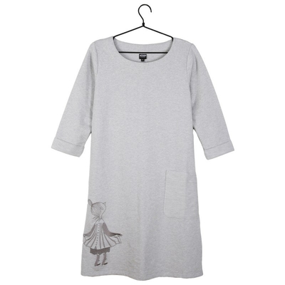 Moomin Mymble women's dress, grey
