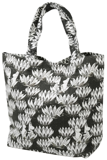 Moomin Nana bag Waterlily, black