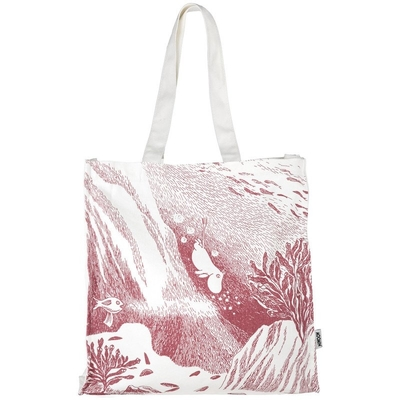 Moomin #Oursea Eco bag Dive, rose