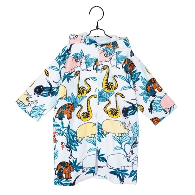 Moomin Paradise children's bathrobe, blue