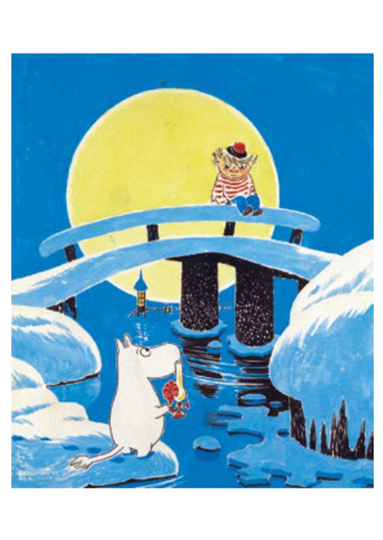 Moomin Post Card with envelope