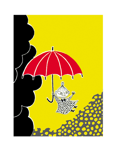Moomin Poster Little My
