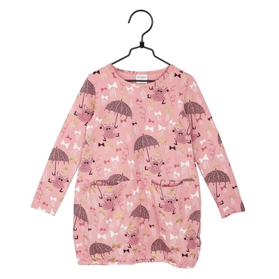 Moomin Ribbon children's dress, rose