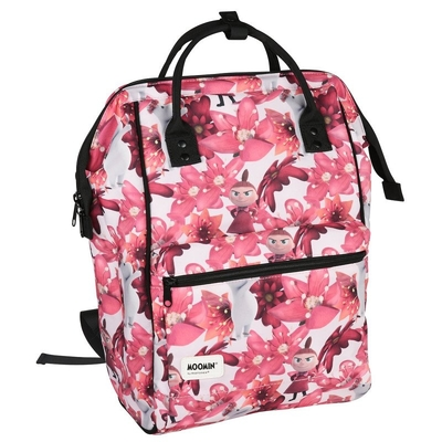 Moomin Samu backpack Magenta Flower