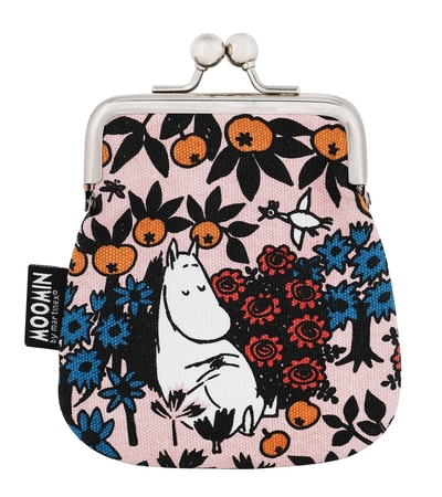 Moomin Sanna purse Berry, rose