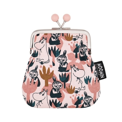 Moomin Sanna purse Blooming, rose