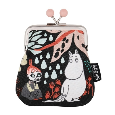 Moomin Sanna purse Magic Forest, black