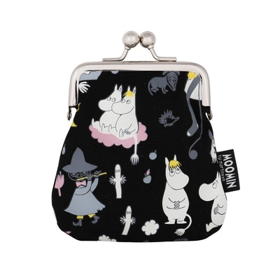 Moomin Sanna purse Moonlight, black