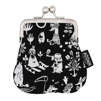 Moomin Sanna purse Tove, black
