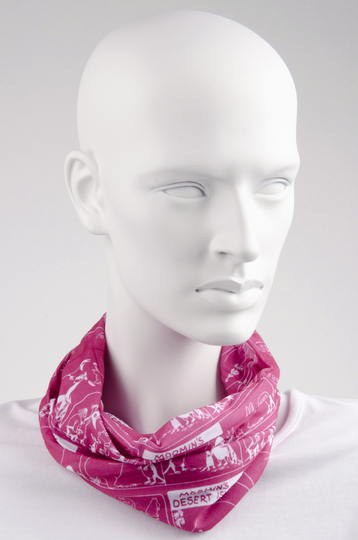 Moomin Scarf, pink/white