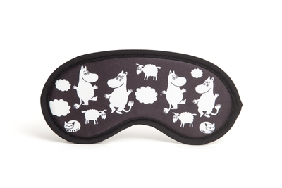Moomin Sleeping mask, black/white