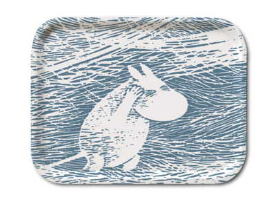 Moomin Snow Blizzard serving tray