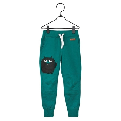 Moomin Stinky children's trousers, jade green