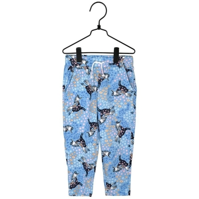 Moomin Summer Gallop trousers, blue