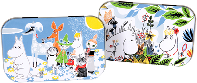 Moomin Summerday tiny tin box