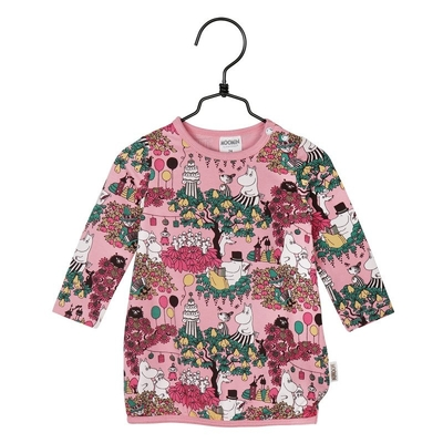 Moomin Time for Celebration babies' tunic, rose