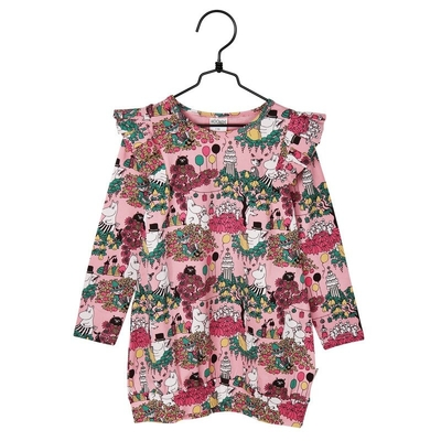 Moomin Time for Celebration children's tunic, rose
