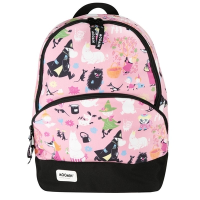 Moomin Toffle-backpack Manymoomins, light pink