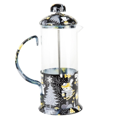 Moomin Too-Ticky's Christmas French press coffee maker