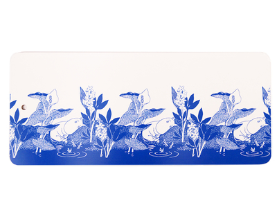 Moomin Tove Nordic cutting board, Moomintroll dreams