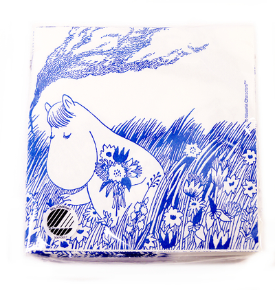 Moomin Tove Nordic napkins, Snorkmaiden in the field
