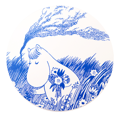 Moomin Tove Nordic pot holder, Snorkmaiden in the field