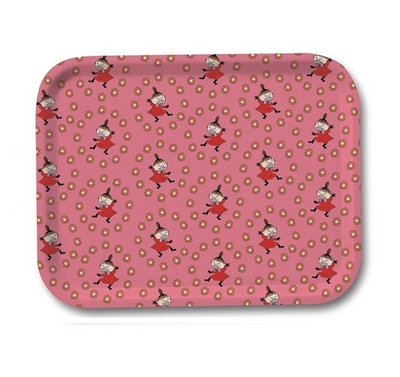 Moomin Trays Little My, Pink