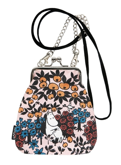 Moomin Vinssi purse bag Berry, rose