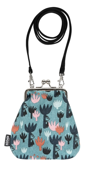 Moomin Vinssi purse bag Tulips
