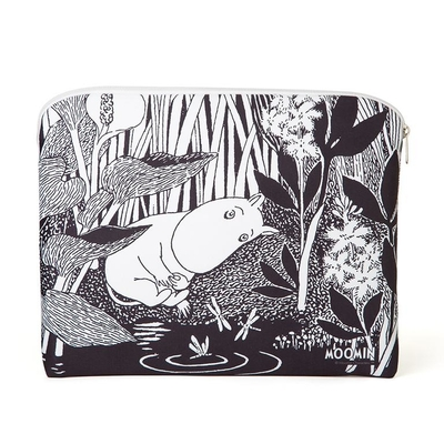 Moomin accessory / tablet pouch, Moomintroll dreaming