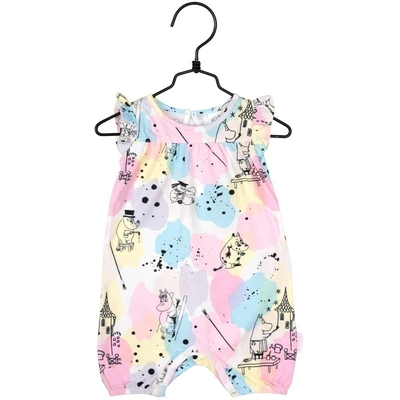 Moomin artists playsuit, light pink