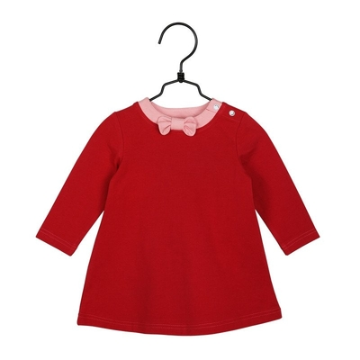 Moomin babies' Little My dress, red