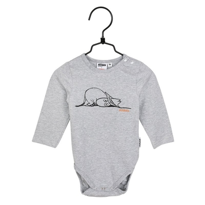 Moomin babies' Our Sea bodysuit, grey