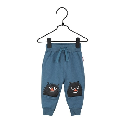 Moomin babies' sweatpants, denim blue