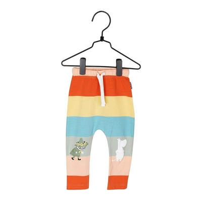 Moomin babies' trousers Stripe, colorful