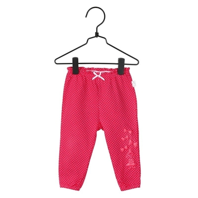 Moomin baby's Little My dotted trousers, red