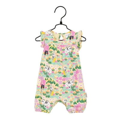 Moomin baby's Springs playsuit, yellow