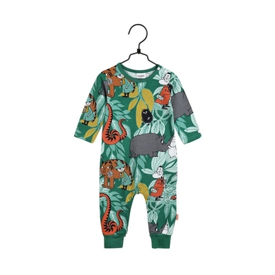 Moomin baby's pajamas Jungle, green