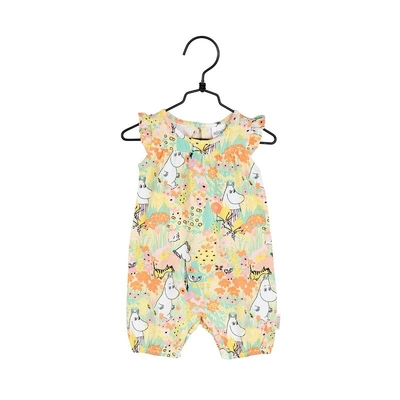 Moomin baby's playsuit Buttercup, yellow