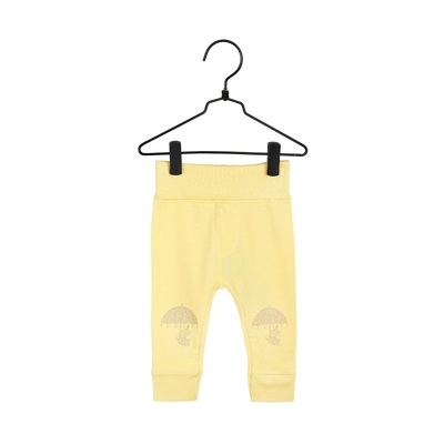 Moomin baby's trousers Little My, yellow