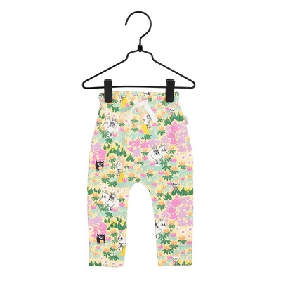 Moomin baby's trousers Springs, yellow