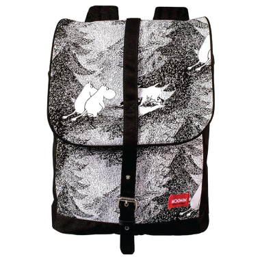 Moomin backpack, black
