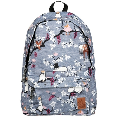 Moomin backpack Climbing Tree, grey