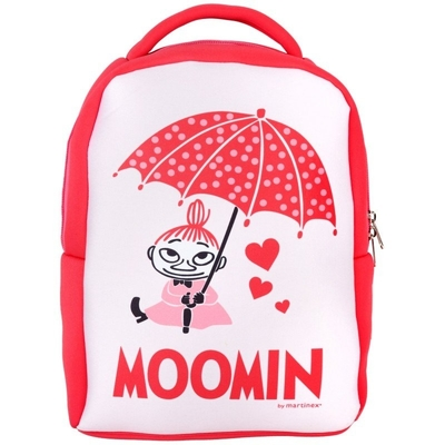 Moomin backpack Umberella, pink