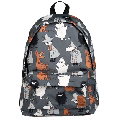 Moomin backpack Watching, grey
