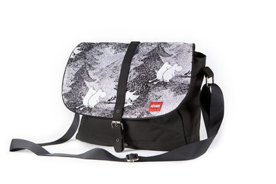Moomin big handbag, black