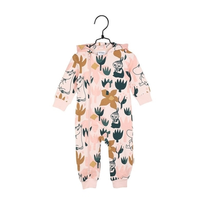 Moomin children's Blooming jump suit, rose